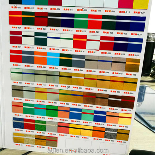 ABS Double Color Sheet with High Adhesive for Engraving