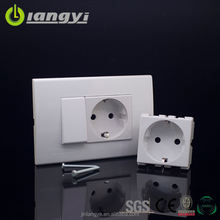 Hot New Products German Electric Wall Switch Schuko Socket