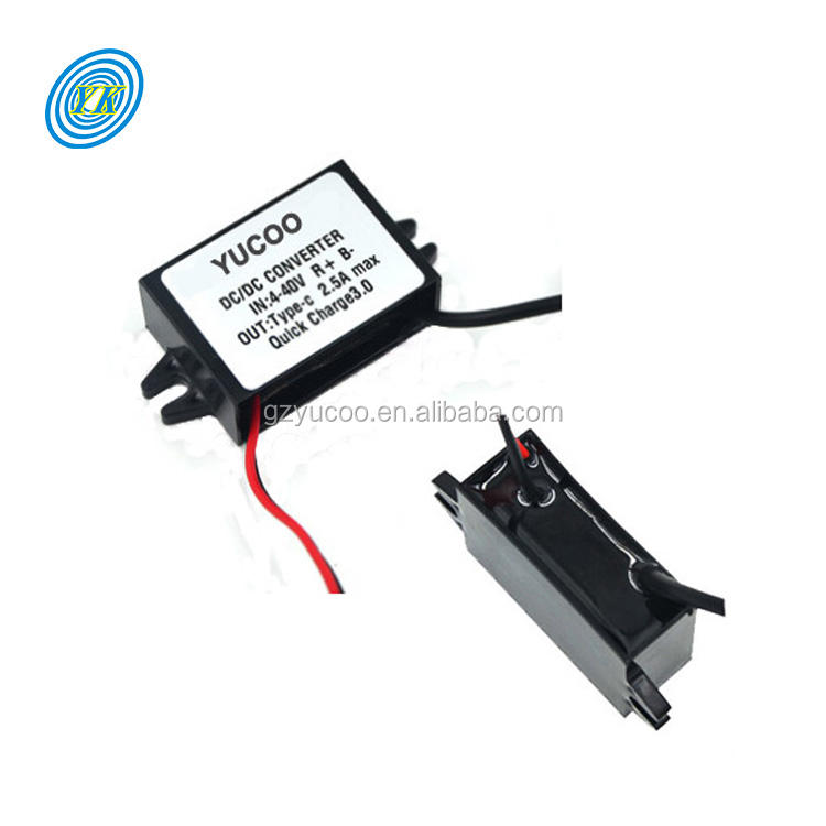 50W DC12//24V to 5V 10A Step-Down Converter Buck Spannungsregler Modul Waterproof