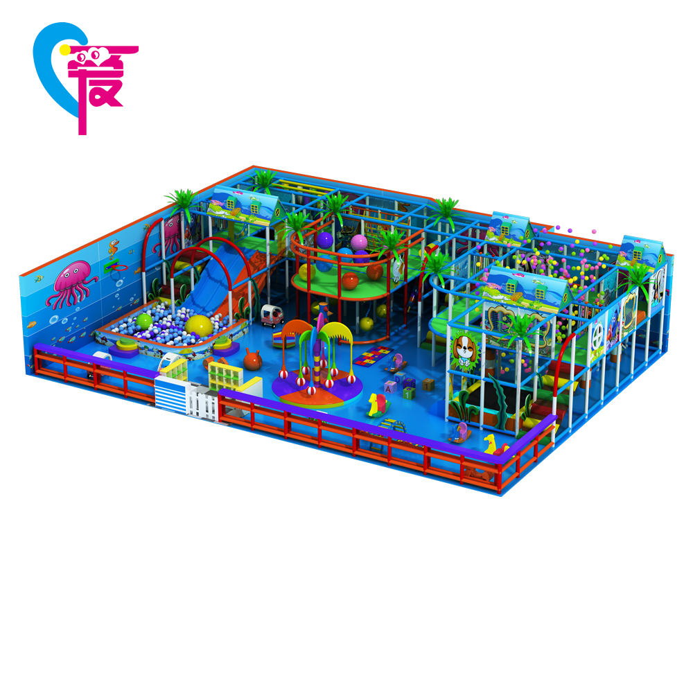 HA-0074 New Products 2017 Kids Play Station Children Jumping Castle Indoor Playground Equipment