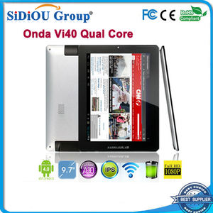 Onda VI40 Dual Core PC de la tableta de 9.7