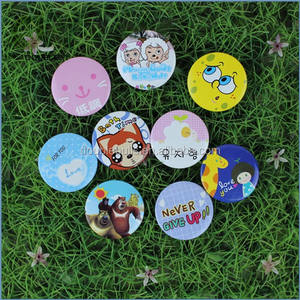 Custom High Quality Color Party Bage Tin Button Badge