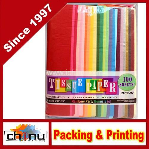 Assorted Rainbow Color Papel Tissue (510040)
