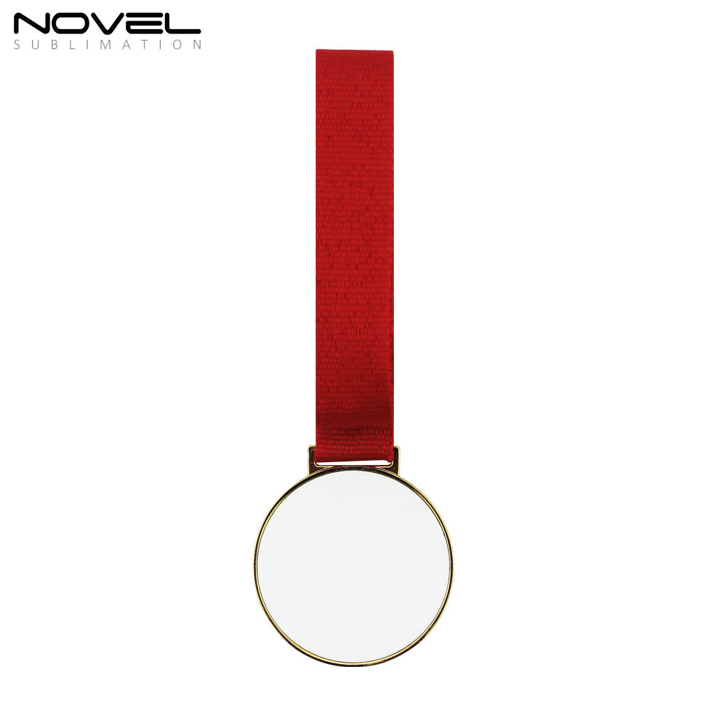 High Quality Sublimation blank Gold Medal