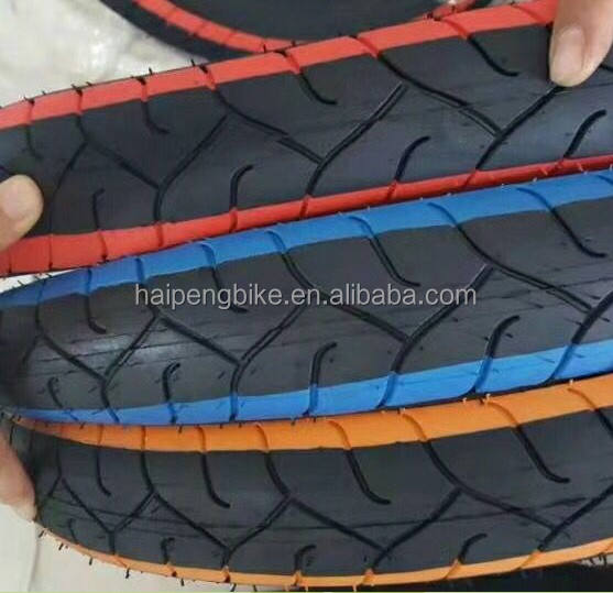 china bicycle parts factory colored fat bike tire