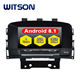 WITSON Android 8.1 Car Multimedia Universal For OPEL ASTRA J 2010 2011 2012 Car Gps Navigation