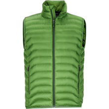 LS563 Men'S Leisure Winter Green Duck Down Feather Down Vest