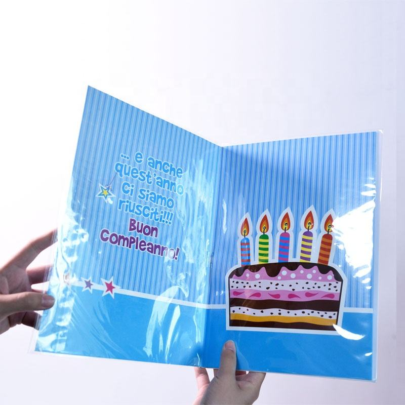 Happy Birthday Musical Greeting Card With Customize Sound Module music card