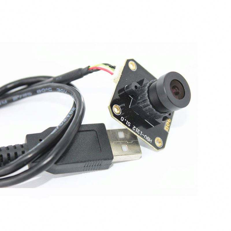 HBVCAM Micro Mini USB Camera Module driver OV7725 Sensor 0.3MP 60fps met MJPG & YUY2 Video formaat
