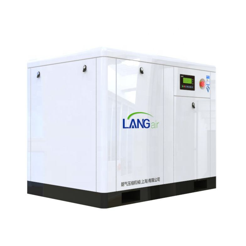 LA-55A/W energy saving direct driven 55kw 8bar screw high pressure air compressor machine