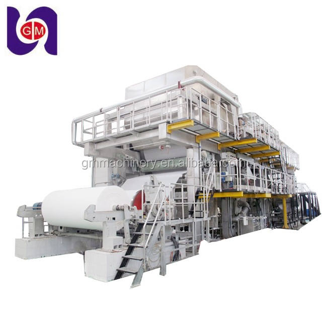 Best service jumbo roll notebook paper making machine, a4 office paper production line for sale