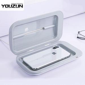 CE certification UV lamp cleaner box smart cell phone uv light cleaner sanitizer