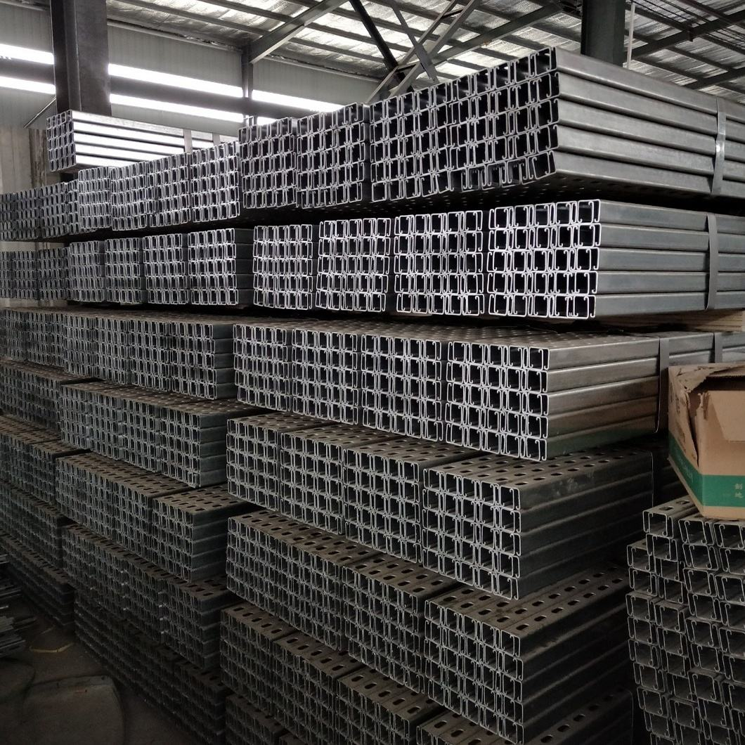 Hot dipped galvanized steel strut channel factory 41*41