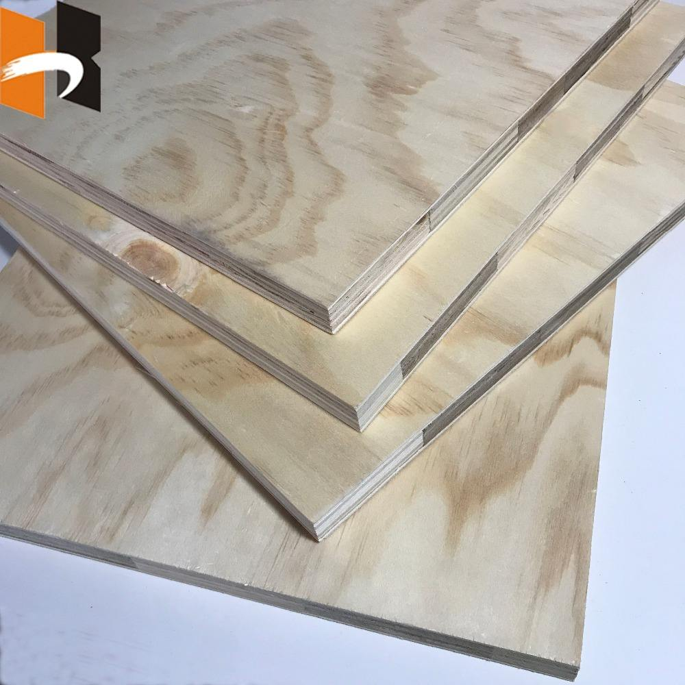 18mm finger joint core radiata pine faced formwork plywood