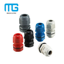 Quick Coupling Cable Nylon Glands Split Bolt Connector With Lock Nut And Flat Washer