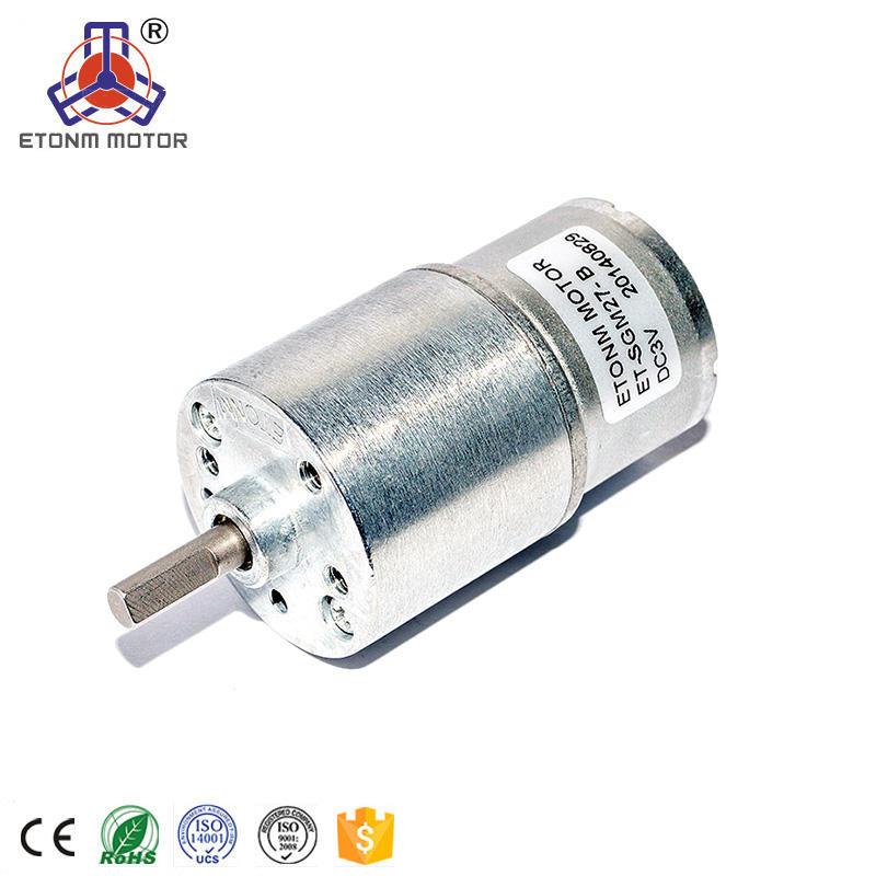 DC 3V-3.7V Micro Speed Reduction Worm Gear Motor 4mm Mini Coreless Motor 800RPM