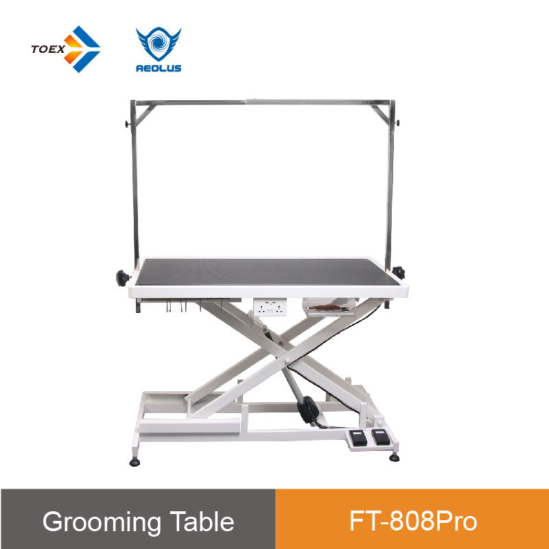FT-808pro new design electric elevating professional Aeolus dog pet grooming grooming table for dogs