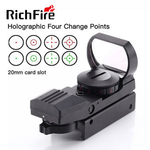 RichFire 4 reticle reflex sight 11mm 20mm red green dot