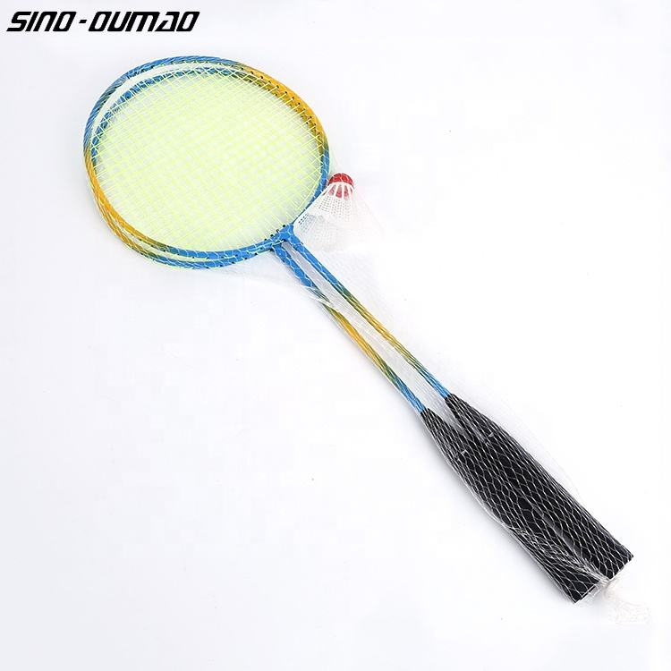 Heat Shrinkable Speed Badminton Racket with T Joint
