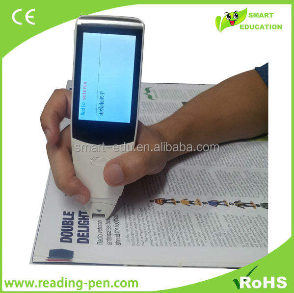 automatic book scanner electronic pen translator