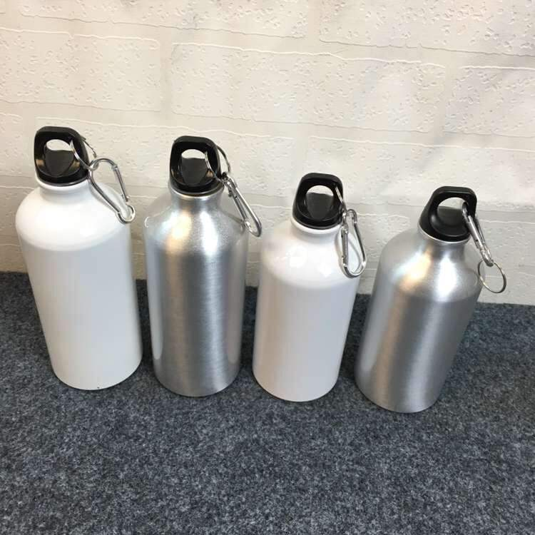 Rubysub Hot Selling D02 Sublimation Blank Aluminum Travelling Water Bottles 500ml Sport Camping Kettle