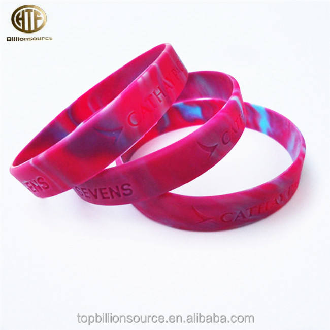 Personalized Breast cancer awareness silicone bracelet, silicone wristband , promotional gift