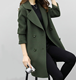 up-0327r New design autumn trench coat fashion winter women coats