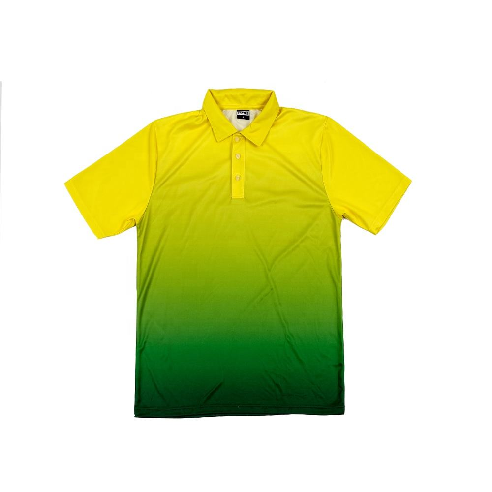 Custom 승화) 저 (low) MOQ (high) 저 (quality new design dry fit 망 golf sport polo shirt