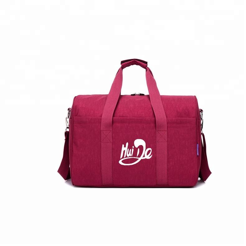waterproof traveling duffel bag,deep pink