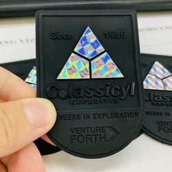 3D Hologram PVC Holographic Rubber Patch