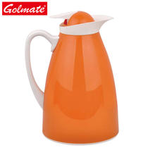 1.0l Plastic insulated double wall glass liner vacuum water jug, water pot coffee pot 1.0l