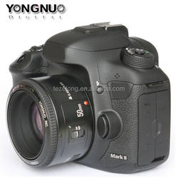 large aperture auto focus lens for DSLR camera yongnuo 50mm
