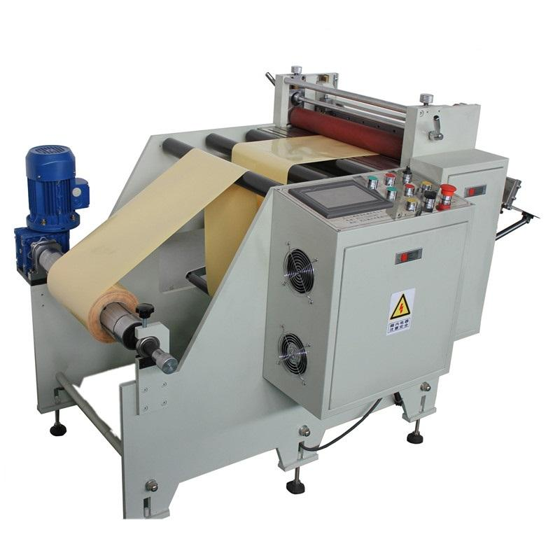 Roll to sheet cutting machine for PET PVC PC PE adhesive tape reflector film insulation paper copper/aluminum foil