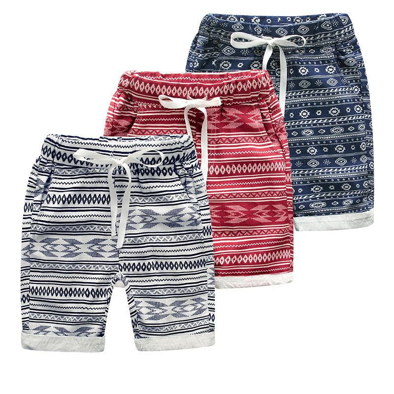 China Suppliers Children Boys Classical Crimping Sports Wear Shorts
