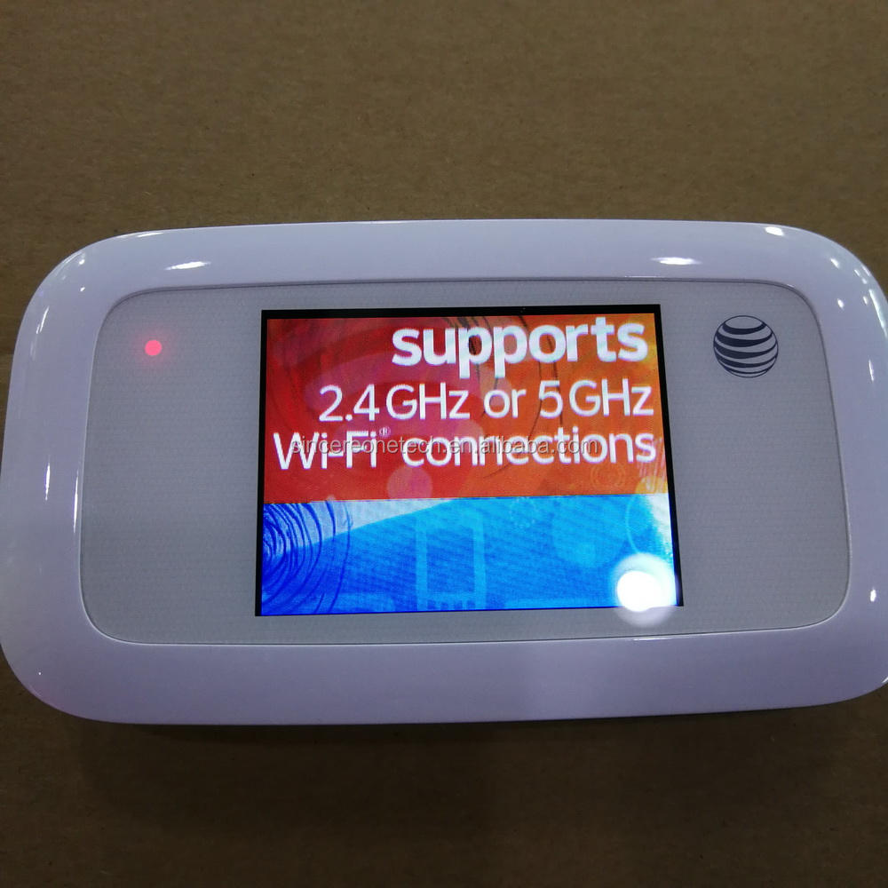 ZTE MF923 (AT&T Velocity) 4G LTE Mobile Hotspot with touch screen