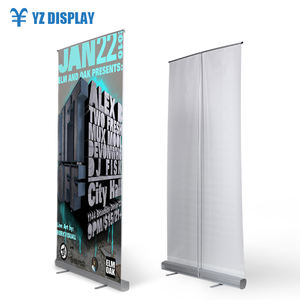 Pull Banner Flex 85*200 Aluminium Budget Roll Up Display Stand
