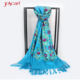 Hand embroidered indian pure wool kashmir women winter pakistan cashmere shawl shawls wrap scarf for women