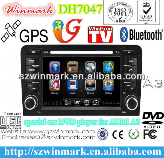 7'' TFT HD GPS DVD de <span class=keywords><strong>voiture</strong></span> spéciale avec IPOD, Bluetooth, GPS, radio, VTT, DVB-T, <span class=keywords><strong>ATSC</strong></span>, commande au volant