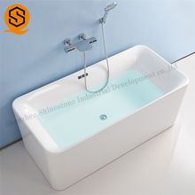 SGS certification acrylic solid surface bathtub modern bathtub