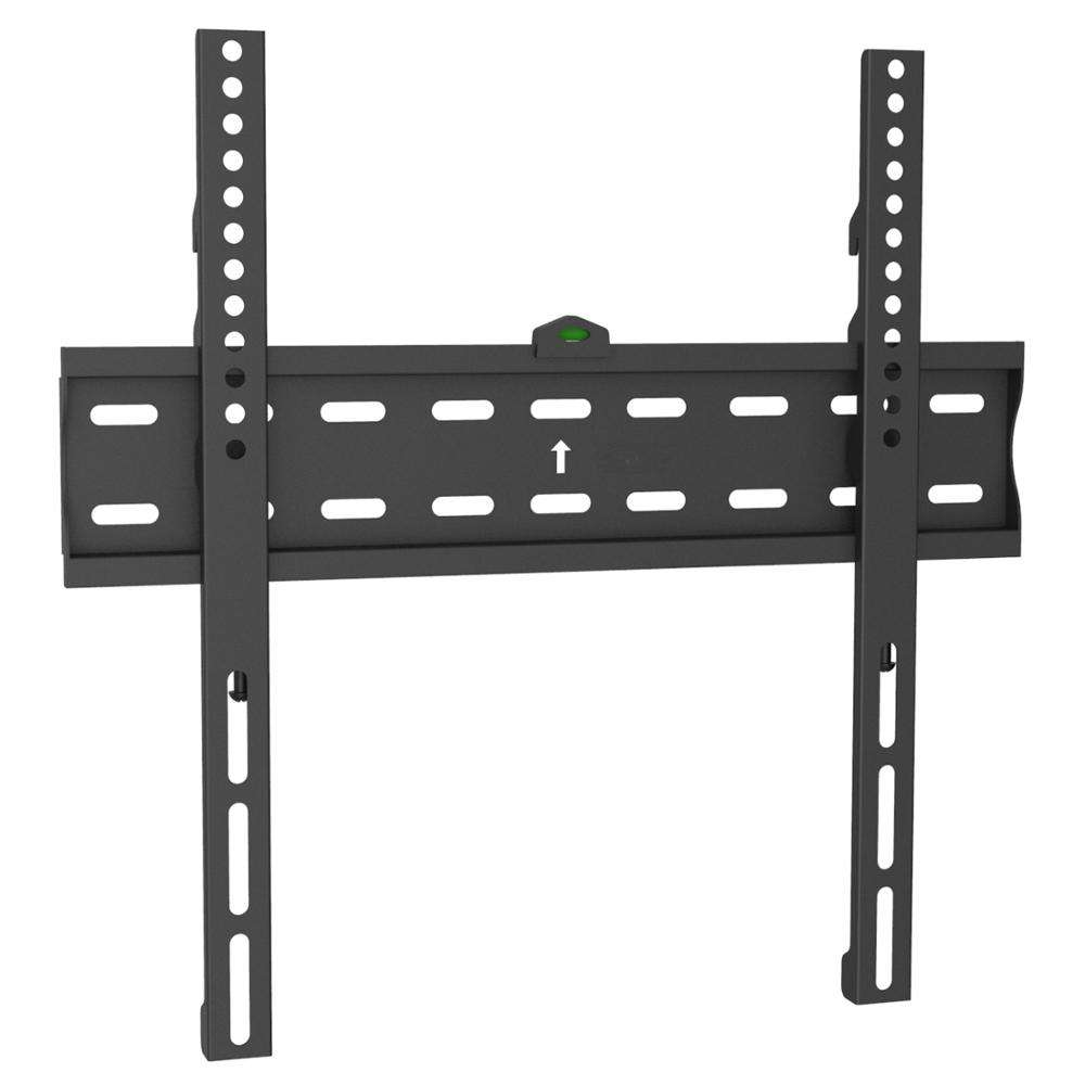 Fits 26 to 55 inch flat screen tv up to 88 LBS Load Capacity and 400x400 vesa fixed tv wall mount bracket stand