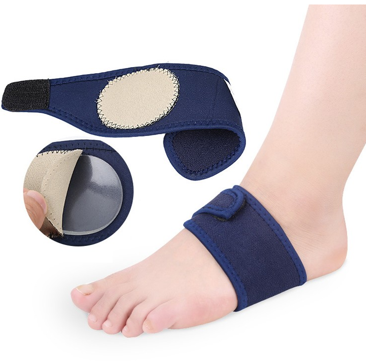 Arch Support Bandages Feet Insoles Compression Nylon Foot Care Sleeve Open Toe Cushion Pads to Ease Pain