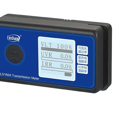 LS160A Window Film Solar Film Transmission Meter With UV IR Light Transmittance Tester Three Function In ONE Device