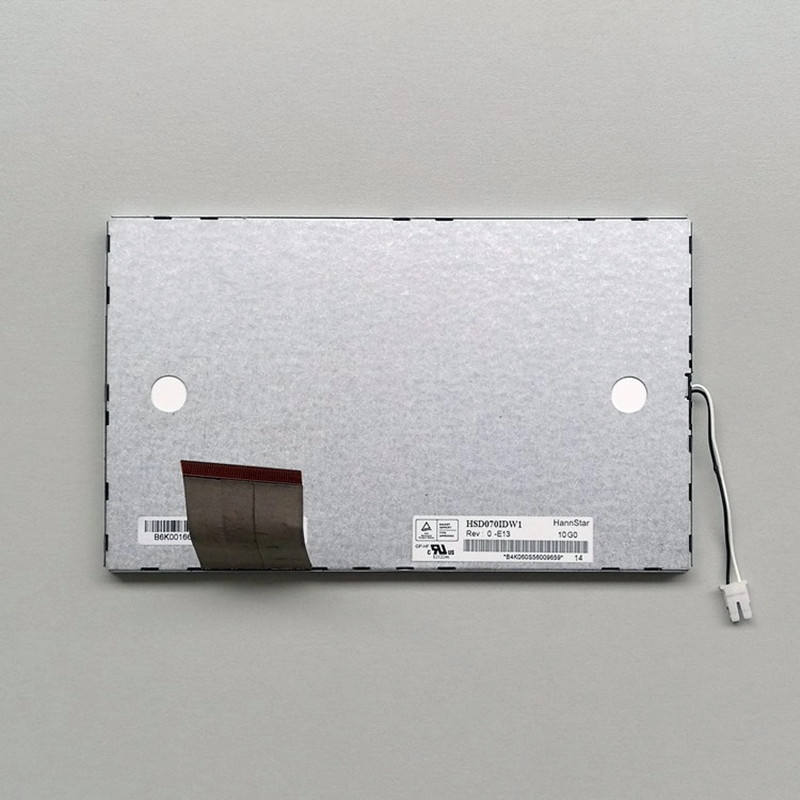 7inch HSD070IDW1-E13 For HannStar 800 ×480 LCD Screen Display Panel 500:1 RGB
