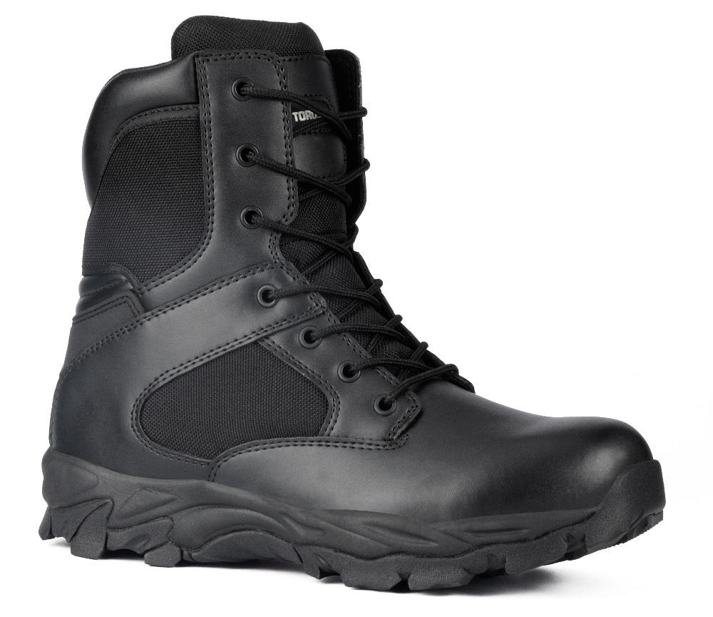 CE standard high cut steel toe safety army boots factory military ankle boots SC-8882