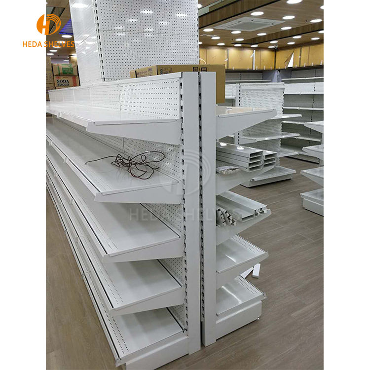 Various styles supermarket display shelf, display stand for gondola shelving