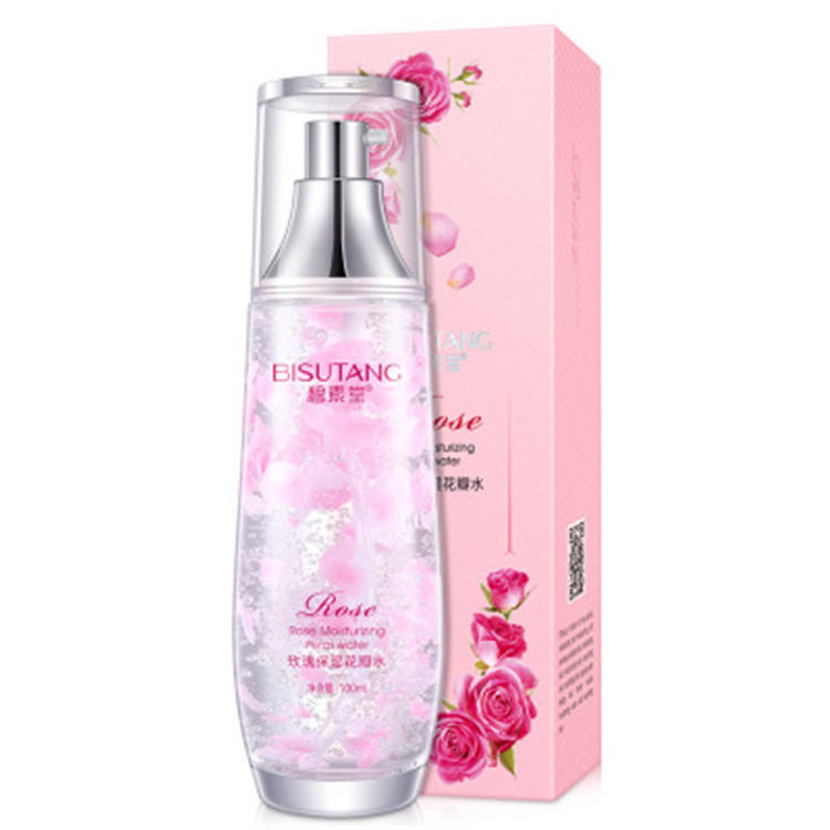 new products 100% pure rose petal water toner best face skin perfect rose petal facial toner with whitening and firming
