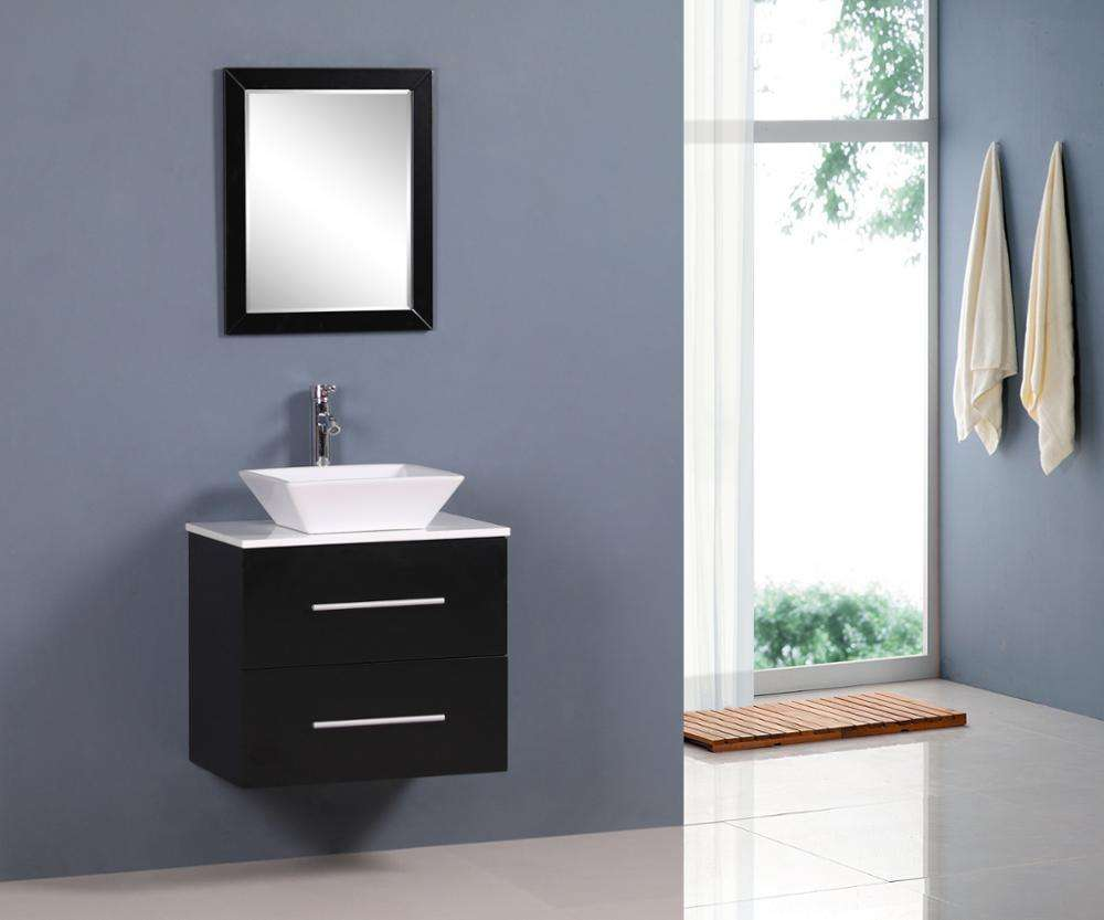 Entop modern waterproof bathroom cabinet vanities 1set