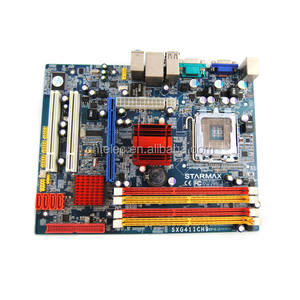 Placa base, gran stock, doble canal 1333 1066 800 g41 socket 478 ddr3