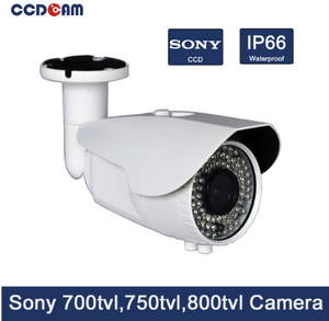 High quality Closed System/CCTV Wired IP66 Varifocal Sony ccd camera for surveillance