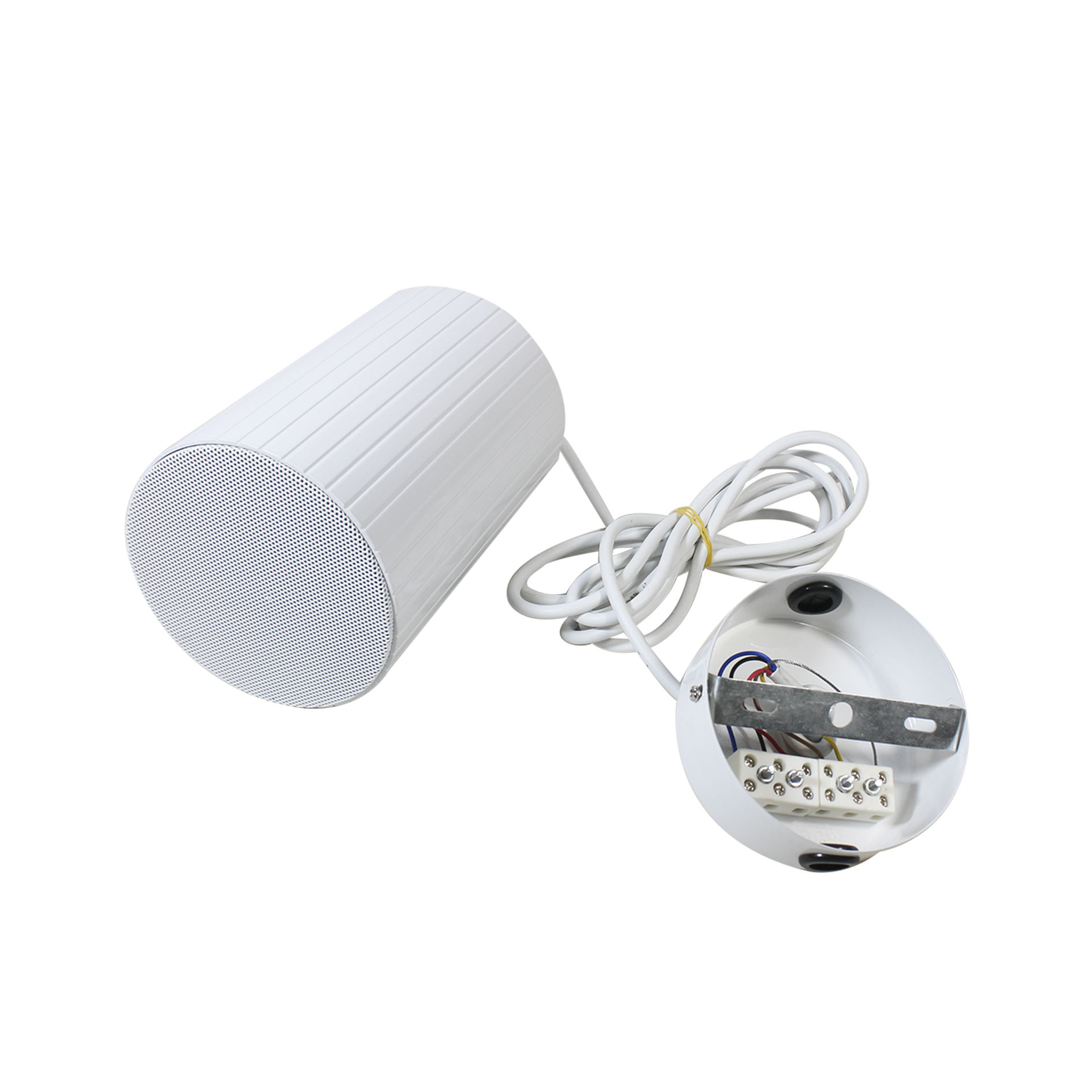 EN54 certificated PA system weather proof Aluminum 5 inch 20W full range Hanging projector speaker